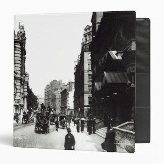 Victoria Street, London, c.1890 3 Ring Binder