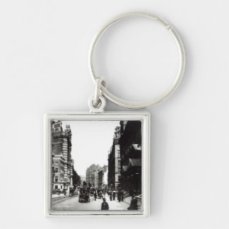 Victoria Street, London, c.1890 Key Chain