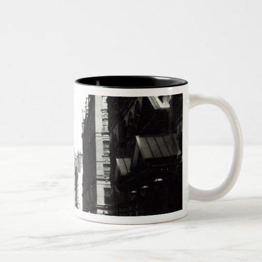 Victoria Street, London, c.1890 Two-Tone Coffee Mug