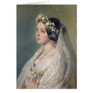 Victoria the Bride Card