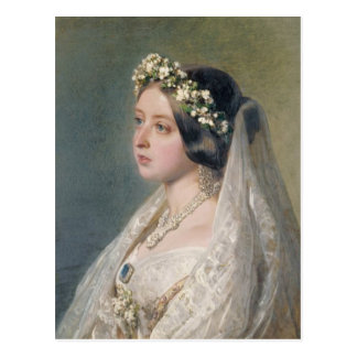 Victoria the Bride Postcard