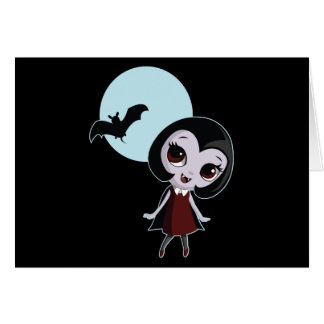 Victoria the Vampire Card
