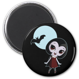 Victoria the Vampire Fridge Magnet