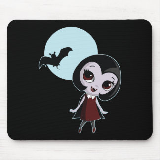 Victoria the Vampire Mouse Pad