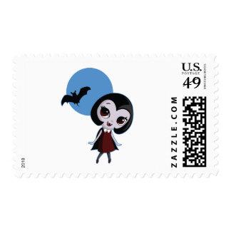 Victoria the Vampire Stamp