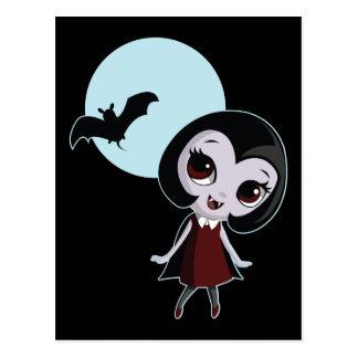 Victoria the Vampire Postcard