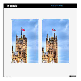 Victoria Tower - Historic Westminster, London Kindle Fire Skin