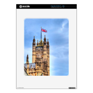 Victoria Tower - Historic Westminster, London Skin For iPad
