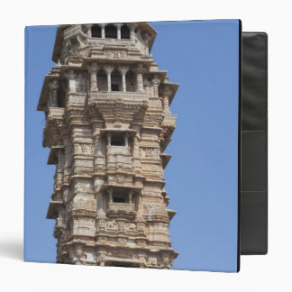 Victoria Tower in Chittorgarh Fort, India 3 Ring Binders