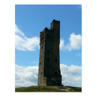 Victoria Tower in Huddersfield Postcard