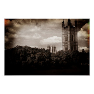 Victoria Tower Poster