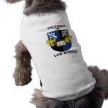 Victoria University Law School - Puppy Mascot Pet T Shirt