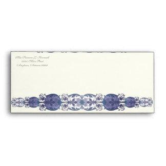 Victoria Wedding Invitation Matching Envelope