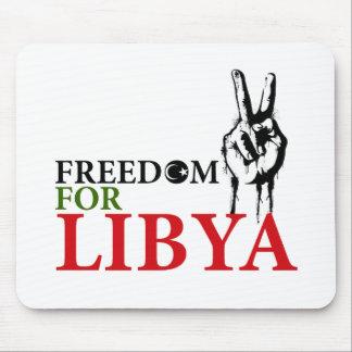 Victoria y libertad para Libia Tapete De Raton