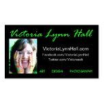 VictoriaLynnHall.com Business Cards