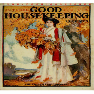Victorian 1905 Good Housekeeping Mag Photo Sculptu Cutout