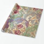 Victorian -1 floral - papel de embalaje