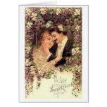 Victorian a mi tarjeta del el día de San Valentín