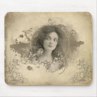 Victorian Actress Miss Doro Mousepad