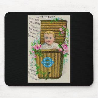 Victorian Ad - Tarrants Seltzer Aperient Mouse Pad