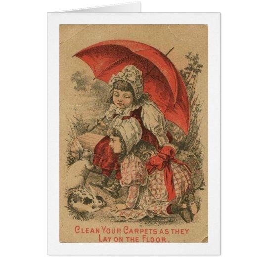 Victorian Adverstisement Card