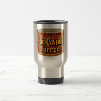 Victorian Advertising Piece - Lord Calvert Coffee Travel Mug