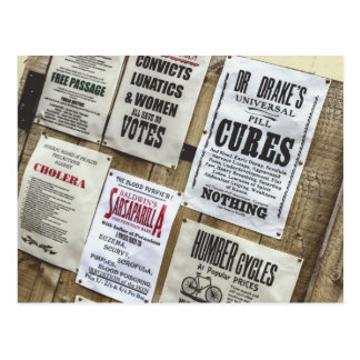 Victorian Advertising Postcard