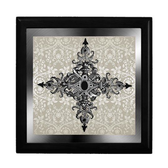 Victorian And Damask Gift Box