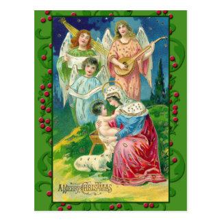 Victorian Angel Art on Cards, Postcards