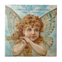 Victorian Angel Boston Candy Store State Street Tile
