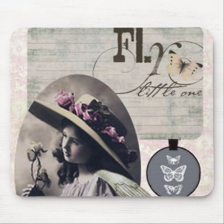 Victorian Angel Child Mouse Pad