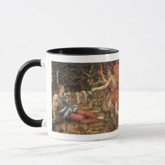 Victorian Angel, Love and the Maiden by Stanhope Mug