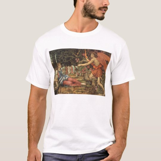 Victorian Angel, Love and the Maiden by Stanhope T-Shirt