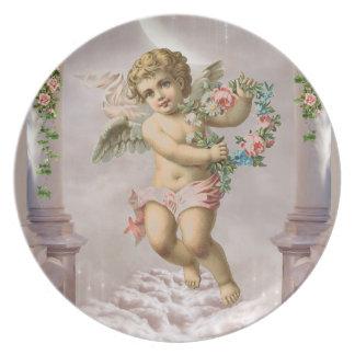 Victorian Angel Plate