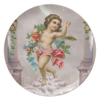 Victorian Angel Plate