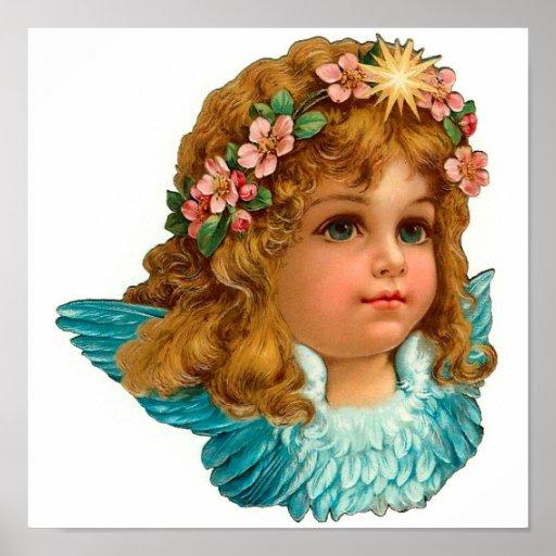 Victorian Angel Poster