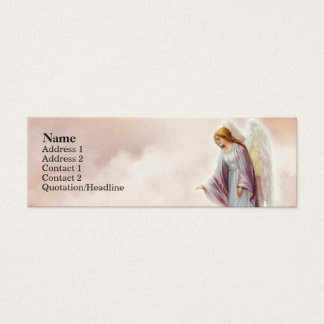 Victorian Angel Skinny Profile Cards