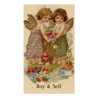 victorian angels business card