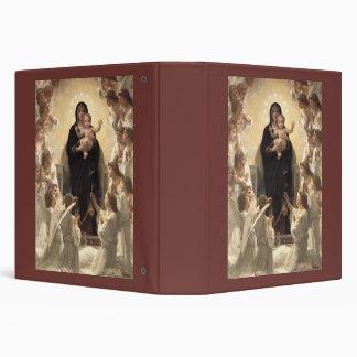 Victorian Angels, Regina Angelorum by Bouguereau 3 Ring Binder