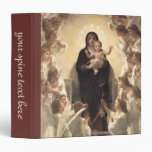 Victorian Angels, Regina Angelorum by Bouguereau Binder