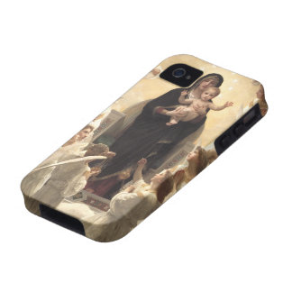 Victorian Angels, Regina Angelorum by Bouguereau Vibe iPhone 4 Covers