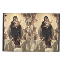 Victorian Angels, Regina Angelorum by Bouguereau Cover For iPad Air