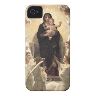 Victorian Angels, Regina Angelorum by Bouguereau iPhone 4 Cover