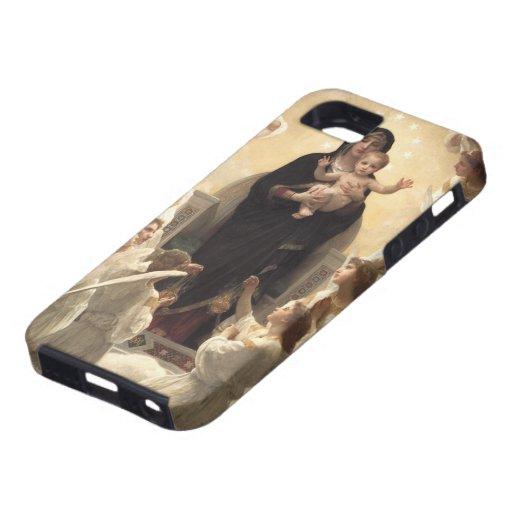 Victorian Angels, Regina Angelorum by Bouguereau iPhone SE/5/5s Case