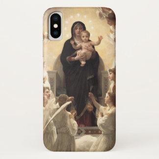 Victorian Angels, Regina Angelorum by Bouguereau iPhone X Case