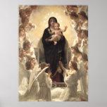 Victorian Angels, Regina Angelorum by Bouguereau Poster