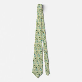 Victorian Angels with a Bell, Vintage Christmas Tie