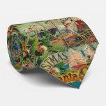 Victorian antiguo del vintage de Papá Noel del Corbata Personalizada