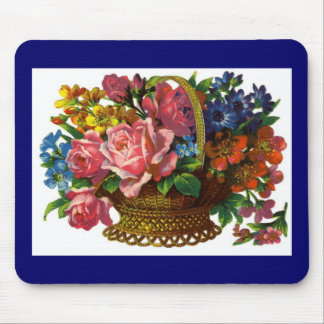 Victorian antiguo Mousepad floral