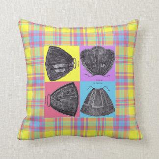 Victorian Aprons ~ Spring ~ Pillow~ Plaid Throw Pillow